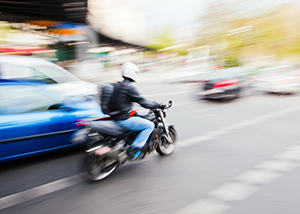 Motorcycle Accident Injures Two from Driver Failing to Yield
